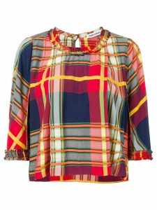 Henrik Vibskov Headwind top - Red