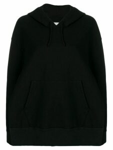 Maison Margiela side slit hoodie - Black