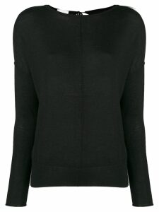 Forte Forte tie back sweater - Black