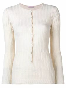 Kristina Ti ribbed knitted cardigan - NEUTRALS