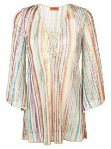 Missoni Mare striped blouse - Neutrals