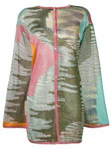 Missoni Aztec print cardigan - Green