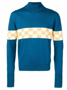 Anglozine Tail End Charlie sweater - Blue