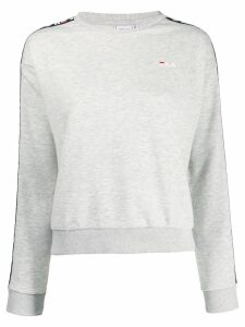 Fila side logo band sweatshirt - Grey