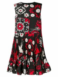 Red Valentino Terrace print skater dress - Black