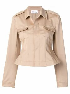 Red Valentino corset back jacket - Neutrals