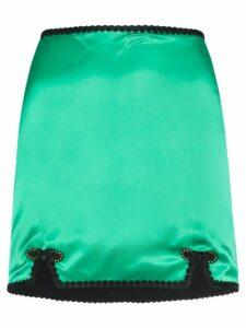 De La Vali Sofia mini skirt - Green
