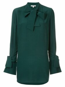 Layeur pussy bow blouse - Green