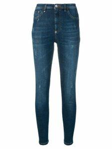 Philipp Plein high-waisted jeans - Blue