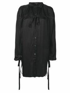 Ann Demeulemeester oversized blouse - Black
