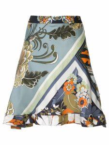 Chloé patchwork print skirt - Multicolour