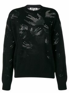 McQ Alexander McQueen Swallow knit jumper - Black