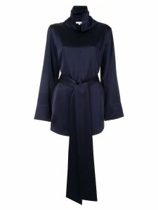 Layeur funnel neck blouse - Blue
