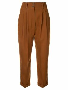 Nehera cropped trousers - Brown