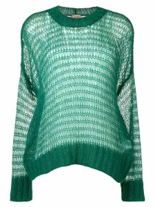 Nº21 loose knit jumper - Green