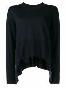 Cédric Charlier oversized pullover - Black