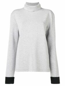 Mm6 Maison Margiela turtleneck sweater - Grey