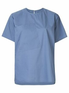 Sofie D'hoore front pocket T-shirt - Blue