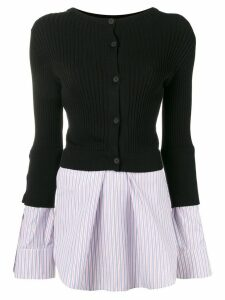Kenzo contrast sweater top - Black