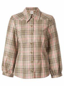 Baum Und Pferdgarten check shirt - Brown