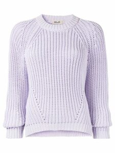 Baum Und Pferdgarten long sleeve knitted jumper - Purple