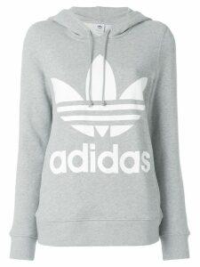 adidas Adidas Originals Trefoil logo hoodie - Grey