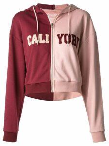Cynthia Rowley CaliYork hoodie - PINK