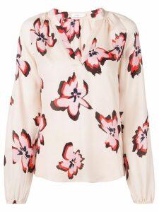A.L.C. floral print blouse - Neutrals