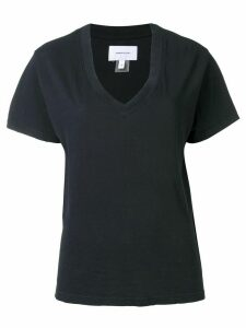 Current/Elliott V-neck T-shirt - Black
