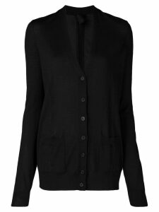 Vera Wang fine-knit cardigan - Black