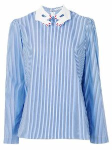 Vivetta hand collar blouse - Blue