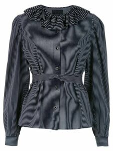 Andrea Bogosian ruffled shirt - Black