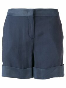Lorena Antoniazzi slim-fit tailored shorts - Blue