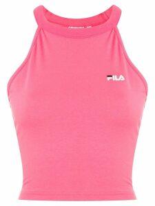 Fila logo crop top - Pink