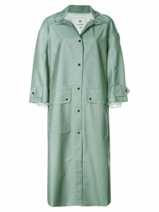 Marine Serre bell-shaped parka - Grey