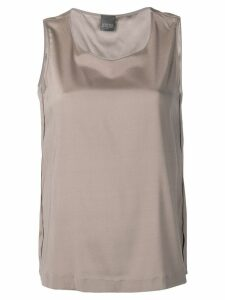 Lorena Antoniazzi sleeveless shift top - Grey