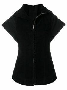 Rick Owens DRKSHDW cap sleeve gilet - Black