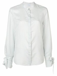 PS Paul Smith band collar striped shirt - White