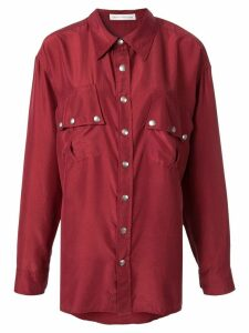Faith Connexion oversized shirt - Red