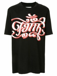 Faith Connexion logo T-shirt - Black