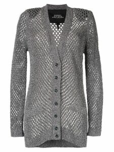 Marc Jacobs loose knit cardigan - Silver