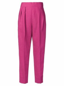 Theory high waisted trousers - Pink