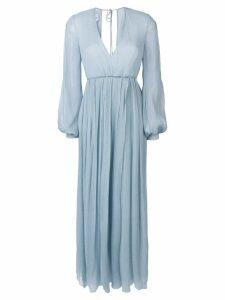 Dondup empire line dress - Blue