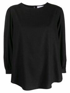 Rodebjer curved loose top - Black