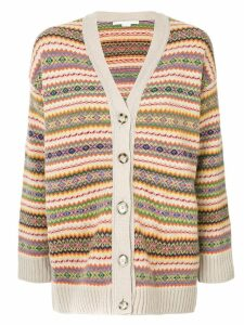 Stella McCartney intarsia cardigan - Multicolour