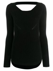 Gentry Portofino knit sweater - Black