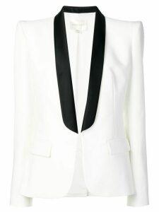 Zuhair Murad structured smoking blazer - White