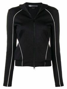 Y-3 piped trim jacket - Black
