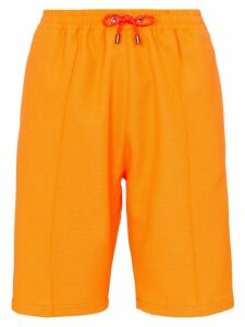 HOUSE OF HOLLAND drawstring waist shorts - Orange
