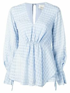 3.1 Phillip Lim peplum blouse - Blue